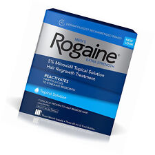 Men's Rogaine Extra Strength Hair Regrowth Treatment Three (3)  Month Supply