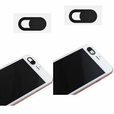 Lot Black Webcam Cover 0.03in Ultra Thin for Laptop Camera Protection