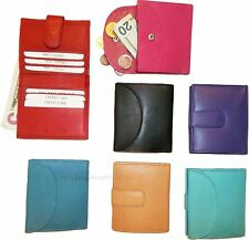 Woman's Wallet. Leather Wallet. 8 Cards ID Billfold Coin purse. Ladies wallet BN