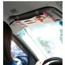 Top Sale Car Truck Sun Visor CD DVD Holder Storage Organizer Band Hang Bag