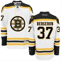 Patrice BERGERON Boston BRUINS Rbk Premier Officially Licensed NHL Away Jersey,