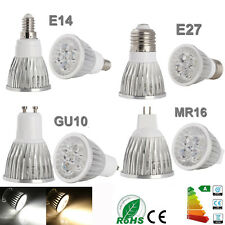 Dimmable GU10/E27/E14/MR16 9W 12W 15W LED Spotlight Lamp Bulb Warm Cool White