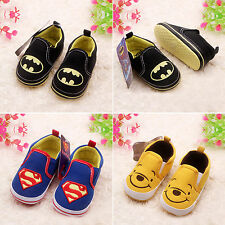 Baby Kids Soft Sole Shoes Prewalker Newborn Infant Toddler Slip-On Flats Shoes