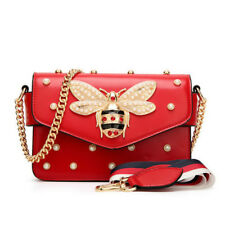 Fashion Women Messenger Bag Bee Handbag for Girls Women Messenger Crossbody Bags