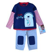 Toddler Costume Sets Clothing Suit Cotton Long Sleeves T-Shirts Pants Baby Kids