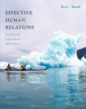 Effective Human Relations: Personal and Organizational Applications-ExLibrary