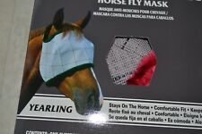 Farnam NEW SuperMask II Classic YEARLING Horse Fly Mask w/o Ears - Asst. Colors