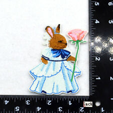 Cute mouse Embroidered Sew Iron On Patch Badge Fabric Bag Clothes Applique Craft