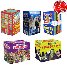 Horrible Histories Science Maths Geography Beastly Collection Books Box Set NEW