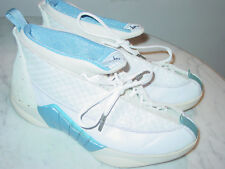 1999 Nike Air Jordan 15 OG White/Columbia Blue/Black Shoes! Size 10 Sold As Is!