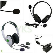 Live Big Headset Headphone With Microphone for XBOX 360 Xbox360 Slim NEW WE