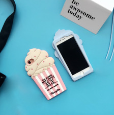 For IPhone6 Creative Gel Ice Cream Silicone Cell phone Skin Case Cover