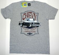 New GM Chevy Timeless Classic Truck Chevrolet Men's Vintage Throwback T-Shirt