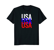 USA Patriotic 4th July Independence Day Shirt Red White Blue
