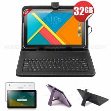 10 inch Android Tablet PC 32GB Touchscreen Quad Core A64 4x1.5GHz 1GB RAM XGODY