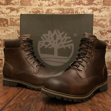 Men's Timberland Earthkeepers Rugged 6'' Waterproof Boot Brown 74134 all Sizes