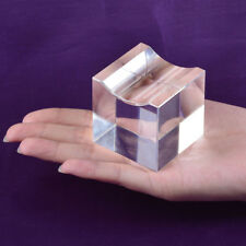 Clear Cube Crystal Diamond Display Stand Holder For 60-120mm Diamonds home decor