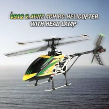WLtoys V912 Drone Sky Dancer 2.4GHz RTF 4CH RC 3D Helicopter With Lamp LOT BS