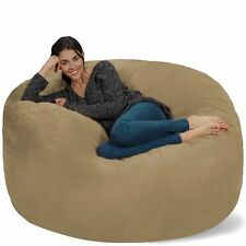 Chill Sack Bean Bag Chair Giant 5 Memory Foam Furniture Bean Bag Big Sofa