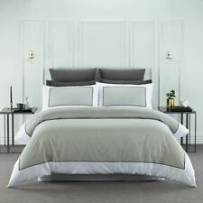 Style & Co 1000TC Egyptian Cotton Hotel Collection Ascot Quilt Cover Set King