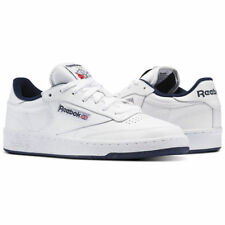 Reebok Classic Club C 85 White College Navy Mens Casual Shoes Sizes AR0457