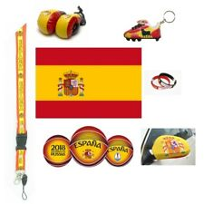 WORLD CUP 2018 SPAIN SOCCER FLAGS, SCARVES & ACCESSORIES CHOOSE FROM 10 + ITEMS