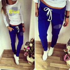 2Pcs Women Tracksuit Sweatshirt Pants Sets Sport Wear Zipper Casual Suit