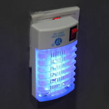 LED Socket Electric Mosquito Fly Bug Insect Trap Night Lamp Killer Zapper CA