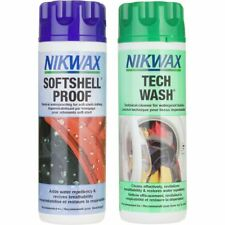Nikwax Tech Wash and Softshell Proof Wash-In Duo-Pack - 300 ml