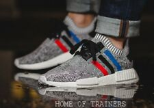 Adidas NMD R1 PK Primeknit Tricolour Grey OG Trainers All Sizes BB2888
