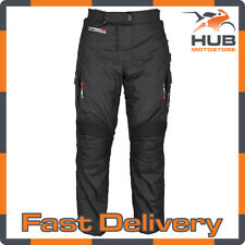Oxford Wildfire 2.0 Waterproof Motorcycle Motorbike Trousers - Black Short