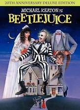 Beetlejuice [20th Anniversary Edition] DVD Region 1 WS/Deluxe ED.