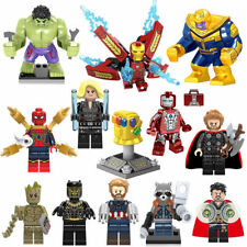 Marvel Avengers Infinity War Building Blocks Thanos Iron Man Venom Batman Bane