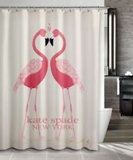 "RARE!!Kate Spade94 Pink Flamengo Shower Curtain Size 60"" x72"" 66""x72"" 72"" X 72"""
