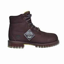 Timberland 6 inch TPU Outsole Waterproof Suede Premium Little Kid's Boots Dark R