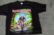 Iron Maiden Legacy of the Beast Tour France EVENT Shirt LARGE