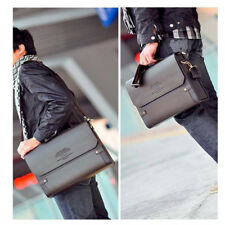 New Men Leather Briefcase Shoulder Bags Casual Business Handbag Tote Messenger