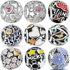 Hollow out 925 silver european sterling charms bead for bracelet necklace BK005