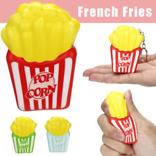 Mini Squishies French Fries Slow Rising Cream Scented Keychain Stress Relief Toy