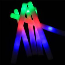 LED Foam Stick Colorful Flashing 48CM Red Green Blue Light Up Sticks Decoration