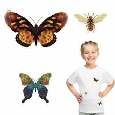 Iron on Patches for Clothing Heat Transfer Thermal Butterfly Stickers DIY Decora