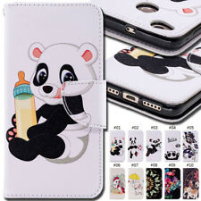 For Xiaomi Holder Flip Stand Case Cover Wallet PU Leather Card Painted Skin