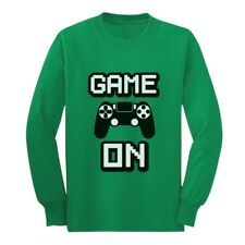 Game On - Awesome Gift For Gamers - Gaming Gamer Youth Kids Long Sleeve T-Shirt