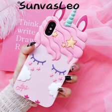 3D Cartoon Pretty Unicorn Soft Silicone Case Phone Cover Skin For Samsung Galaxy