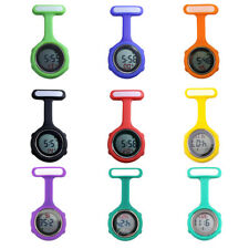 Multi-function Digital Silicone Rubber Nurse Watch Fob Pocket Watch Gift Exotic