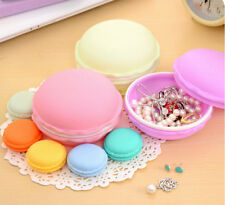 Hot Sell Colorful Macarons Box For Jewelry Earring Ring Outing Storage Boxes