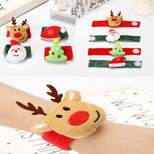 Christmas Clap Circle Pat Hand Ring Christmas Bracelet New Year Party Kids Gift