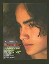 Essentials Of Abnormal Psychology. Durland & Harlow, 2010 Paperback