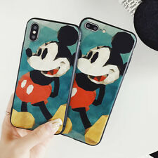 Silicone TPU Mickey Disney Phone Case Cover For iPhone XS XR Max X 8 7 6/6s Plus