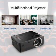 UC18 LCD LED Projector Mini Portable Support 1080P HD Home Theater Cinema Z2V4